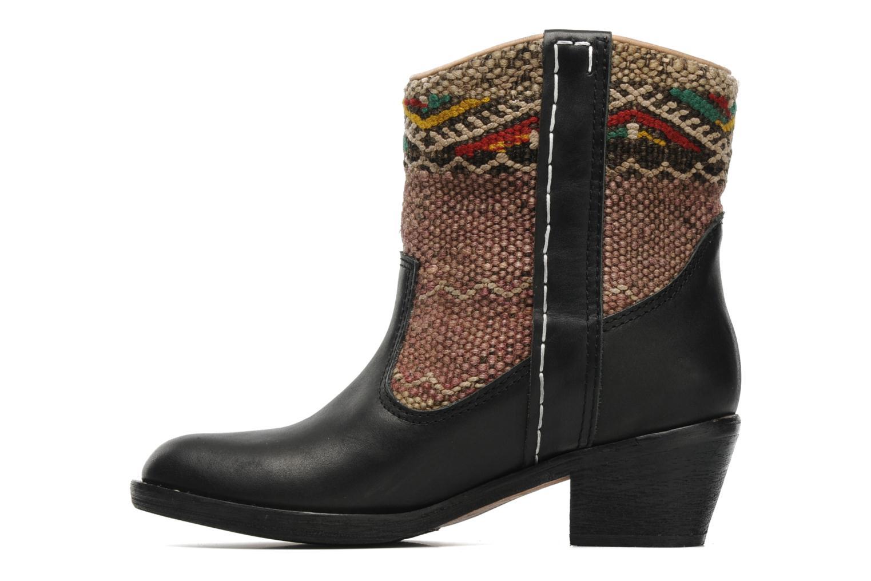 Bottines et boots Kiboots Inez Noir vue face