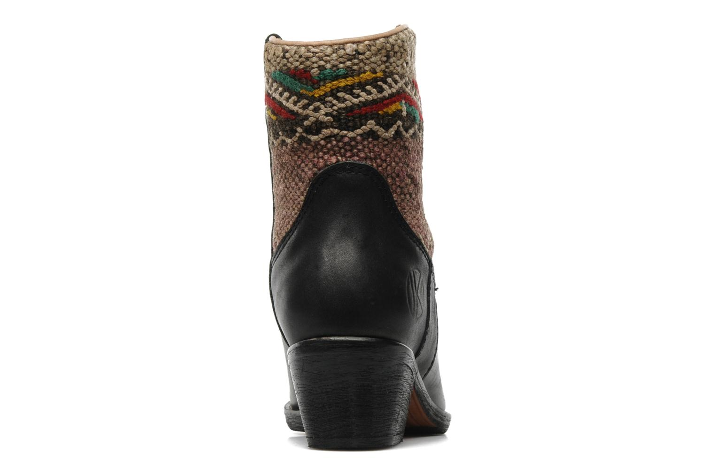 Bottines et boots Kiboots Inez Noir vue droite
