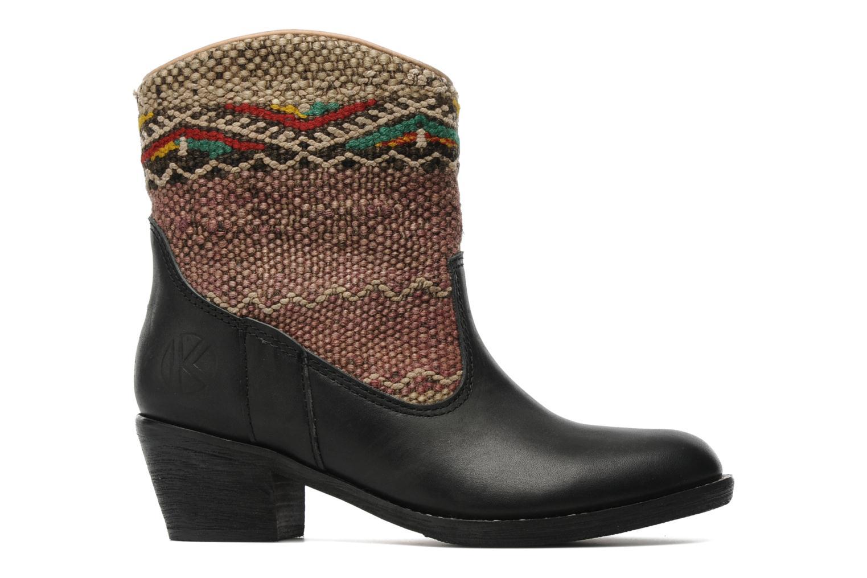 Bottines et boots Kiboots Inez Noir vue derrière