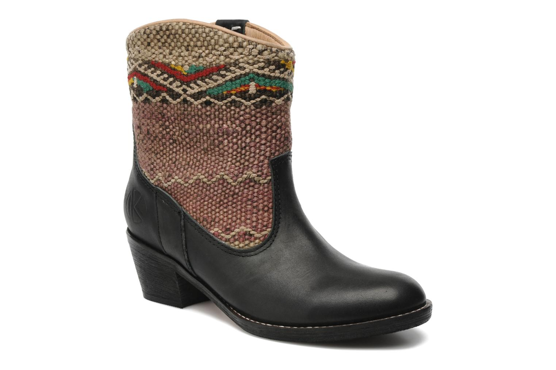 Bottines et boots Kiboots Inez Noir vue détail/paire