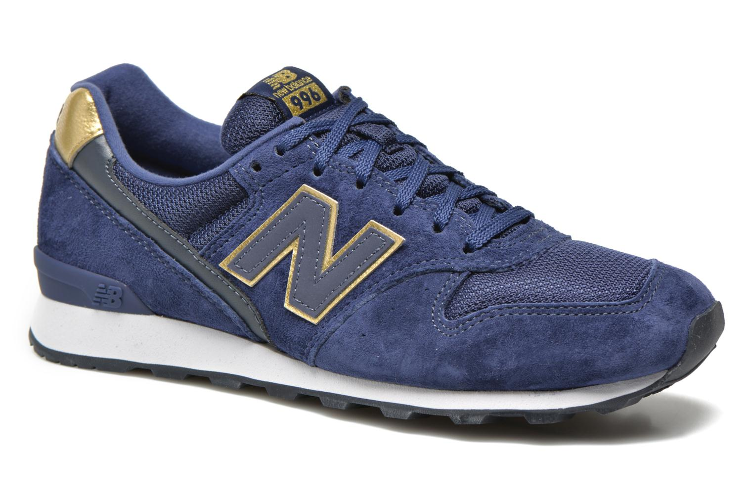 Trainers New Balance WR996 Blue detailed view/ Pair view
