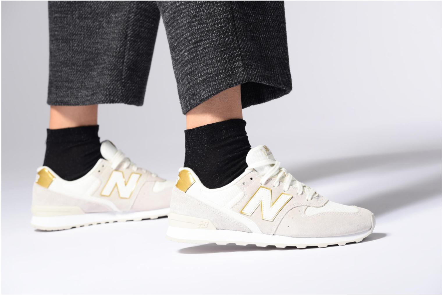 Trainers New Balance WR996 Grey view from underneath / model view