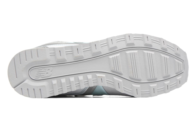Sneaker New Balance WR996 grau ansicht von oben