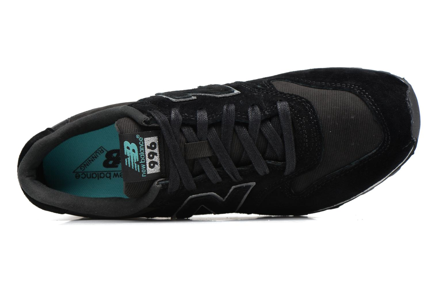 Trainers New Balance WR996 Black view from the left
