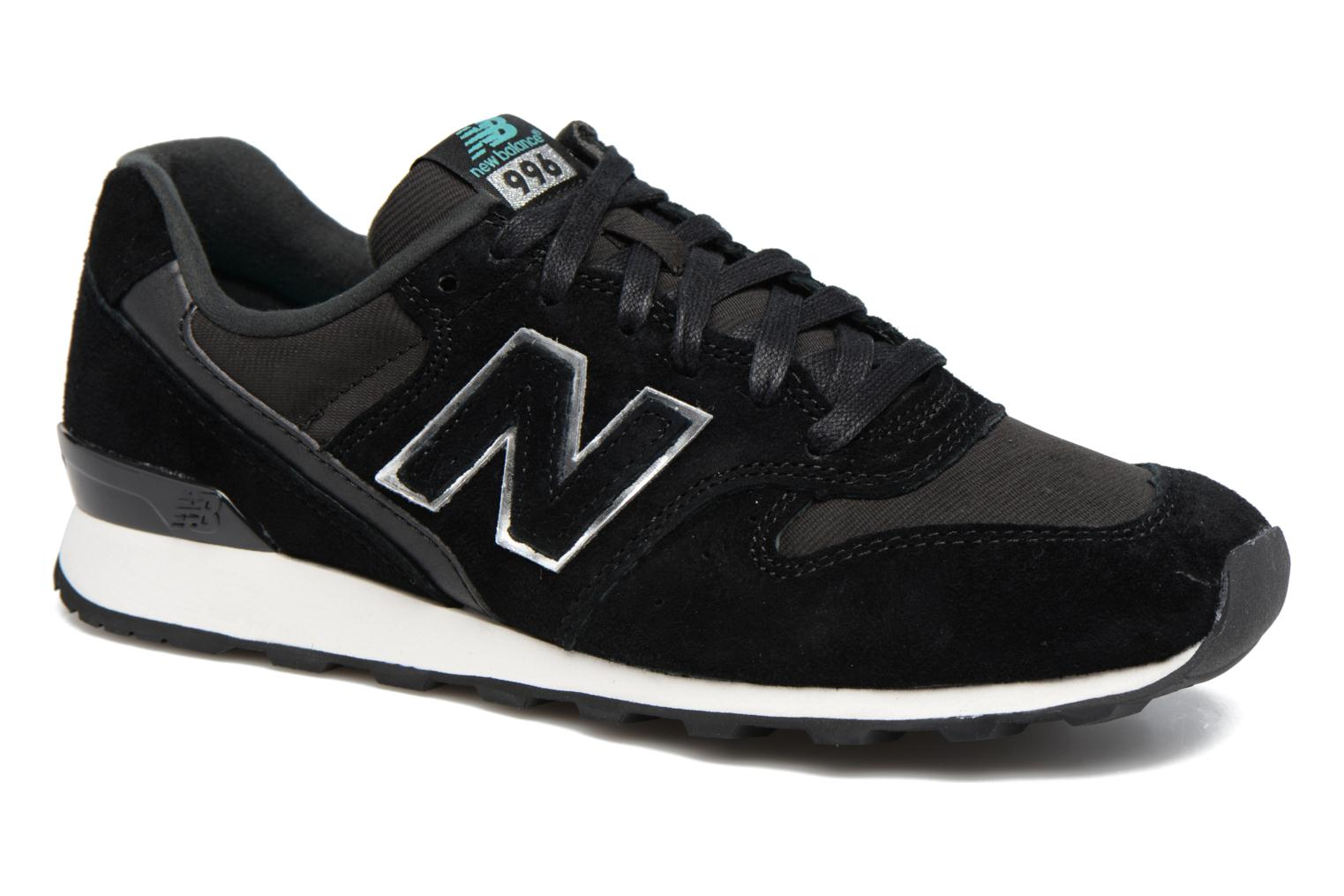 Trainers New Balance WR996 Black detailed view/ Pair view