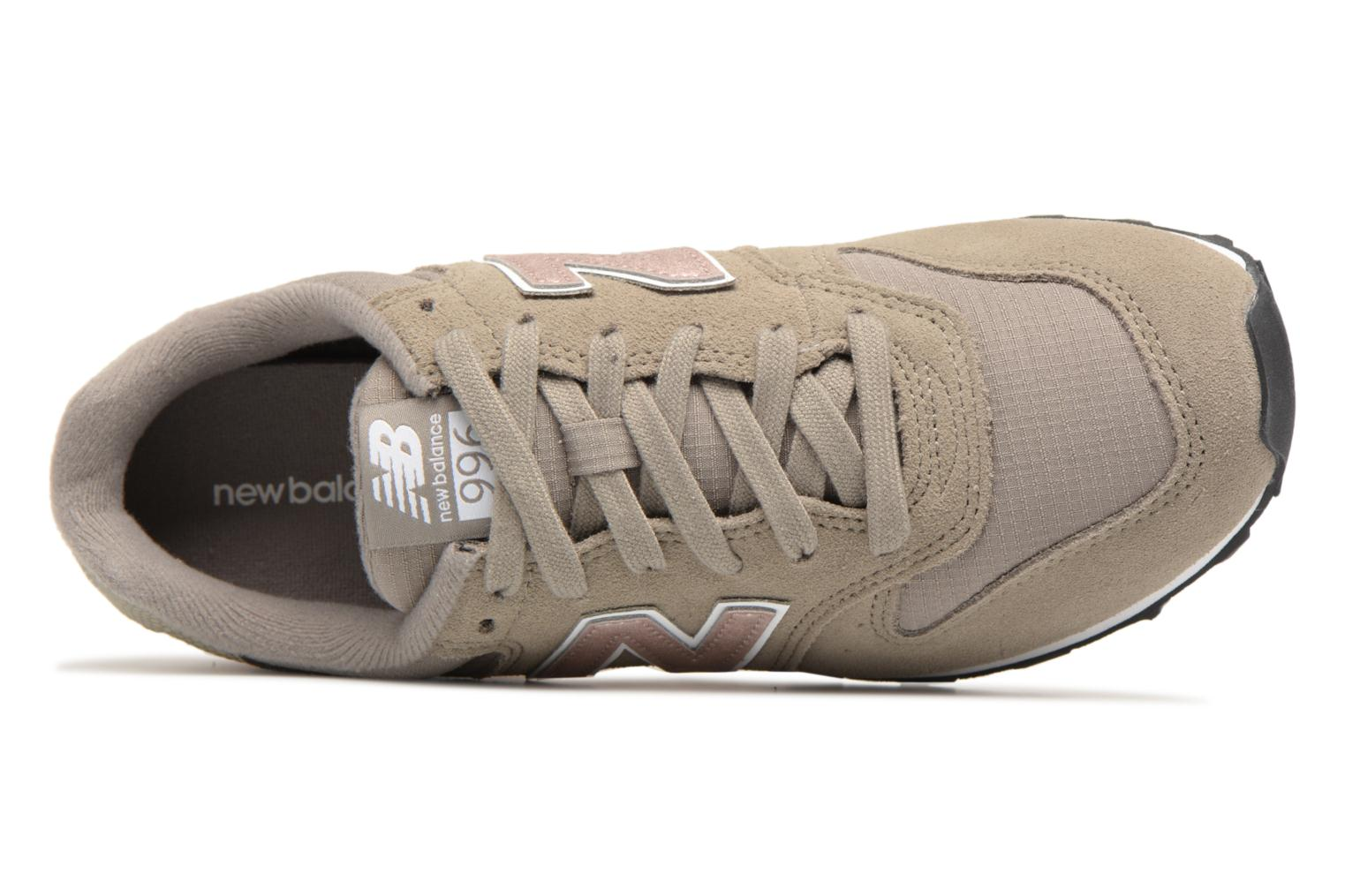 Baskets New Balance WR996 Gris vue gauche