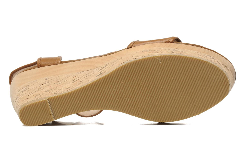 Sandales et nu-pieds Mellow Yellow Natanpa Marron vue haut