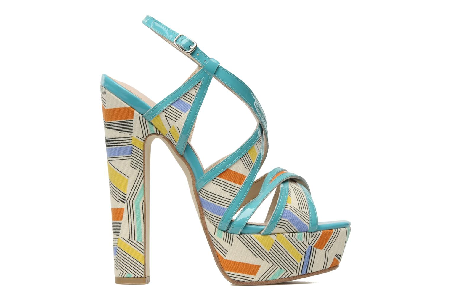 Sandals Mellow Yellow Novela Blue back view