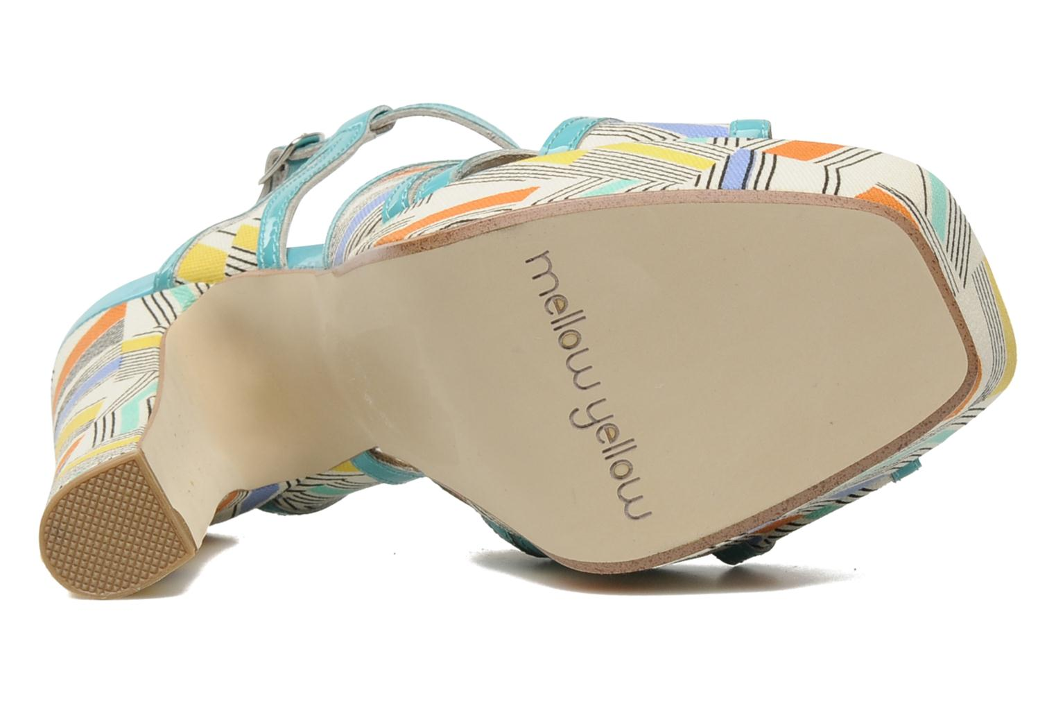 Sandals Mellow Yellow Novela Blue view from above