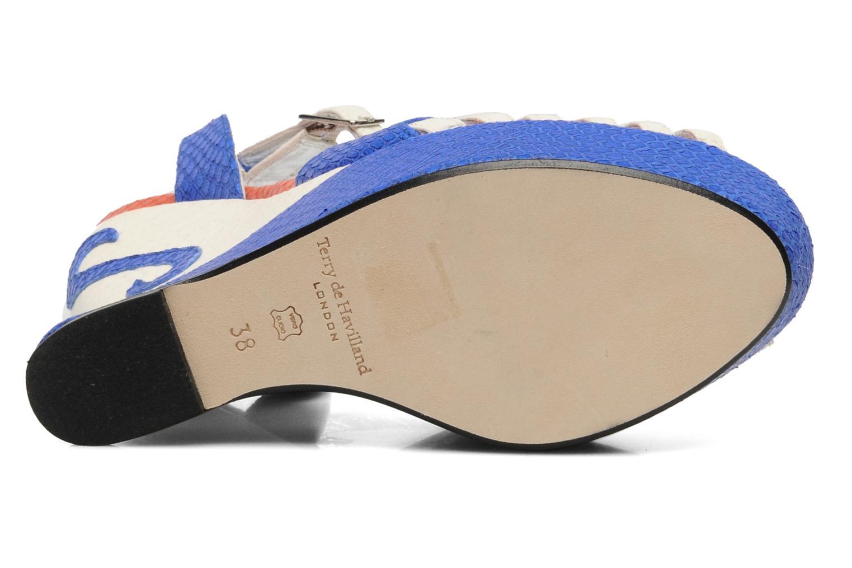 Sandalen Terry de Havilland MARGAUX BI mehrfarbig ansicht von oben