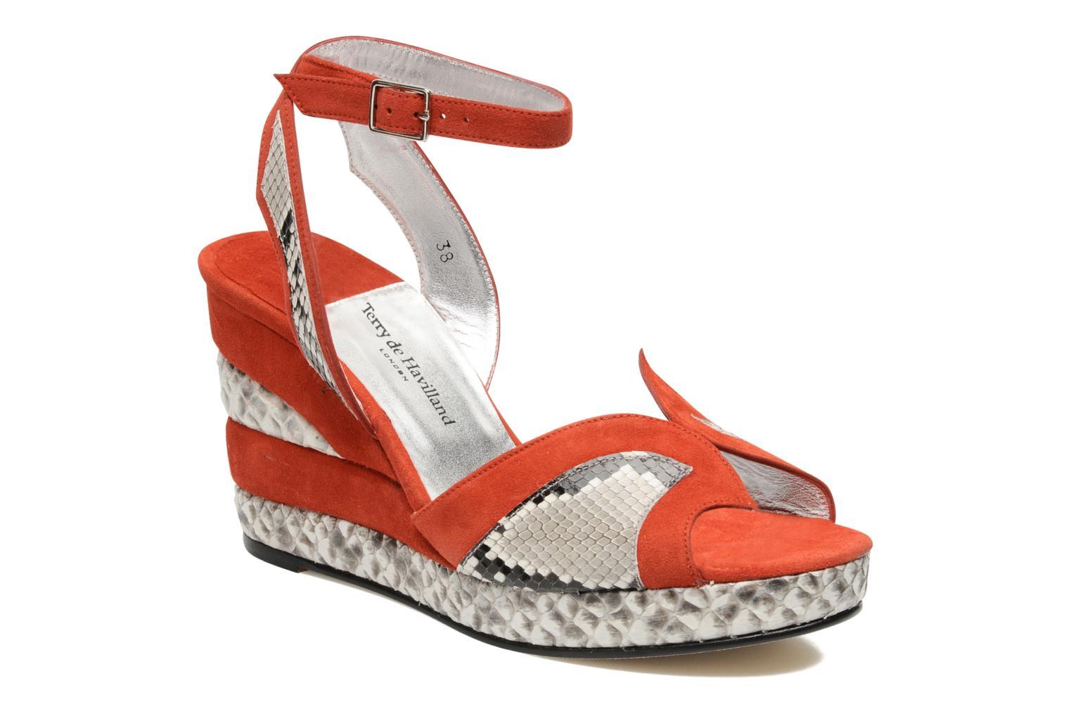Grandes descuentos últimos zapatos Terry de Havilland SIMA 4 TIER (Rojo) - Sandalias Descuento