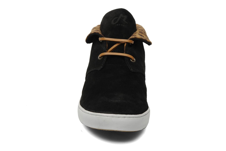 Schnürschuhe Mascaret Felix schwarz schuhe getragen