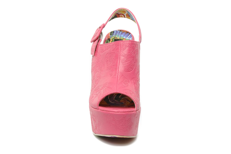Sandaler Iron Fist MANSLAYER WEDGE Pink se skoene på