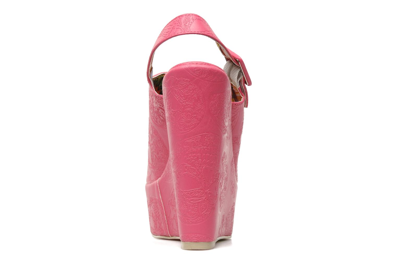 Sandalen Iron Fist MANSLAYER WEDGE Roze rechts