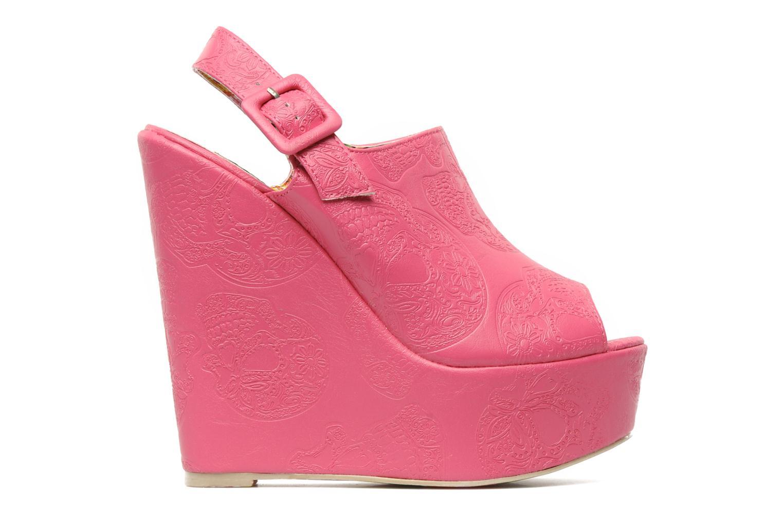 Sandaler Iron Fist MANSLAYER WEDGE Pink se bagfra