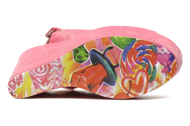 Sandaler Iron Fist MANSLAYER WEDGE Pink se foroven