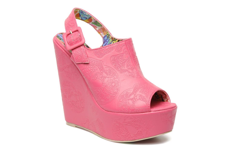 Sandaler Iron Fist MANSLAYER WEDGE Pink detaljeret billede af skoene