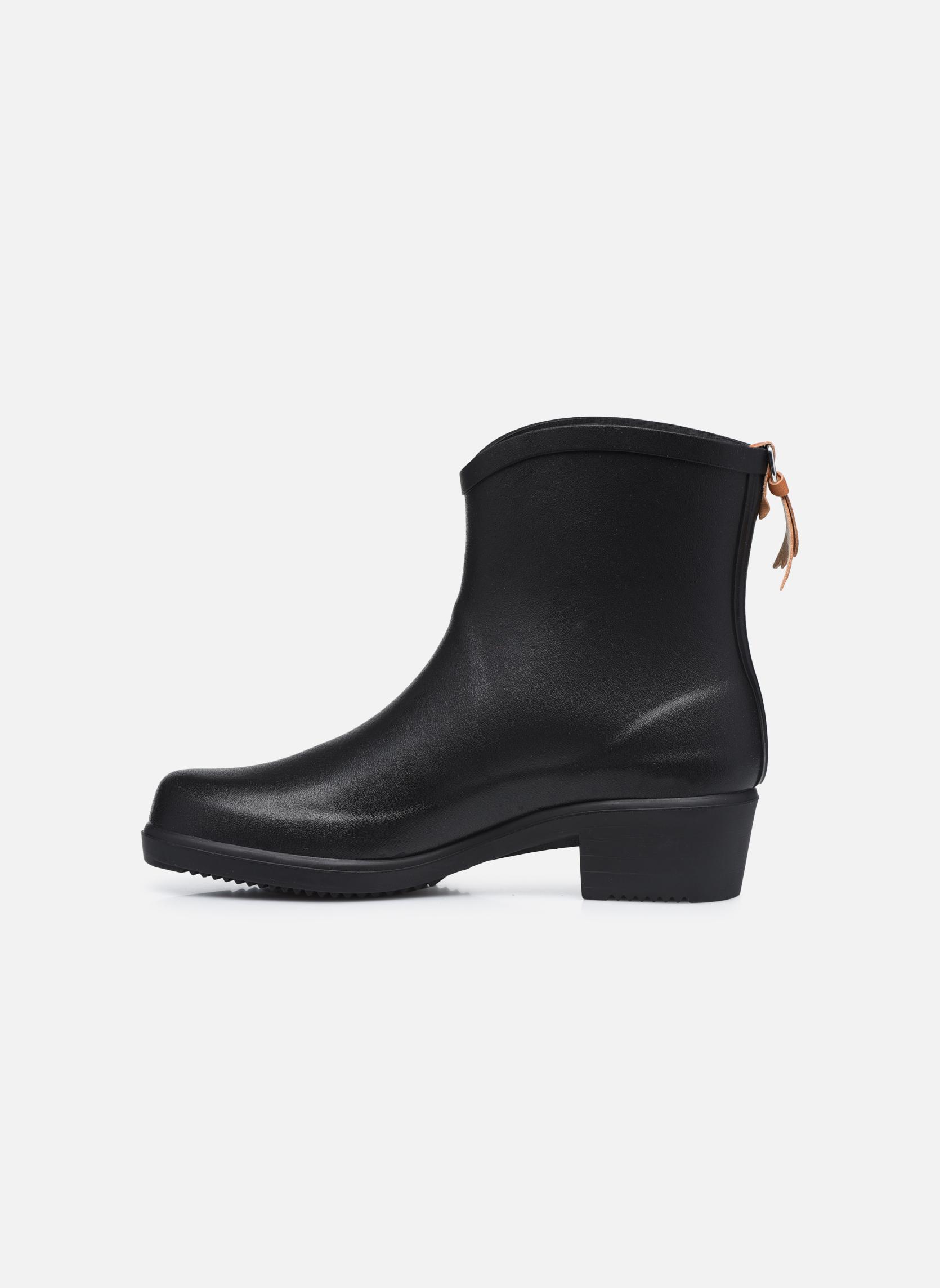Stiefeletten & Boots Aigle Miss Juliette Bottillon schwarz ansicht von vorne