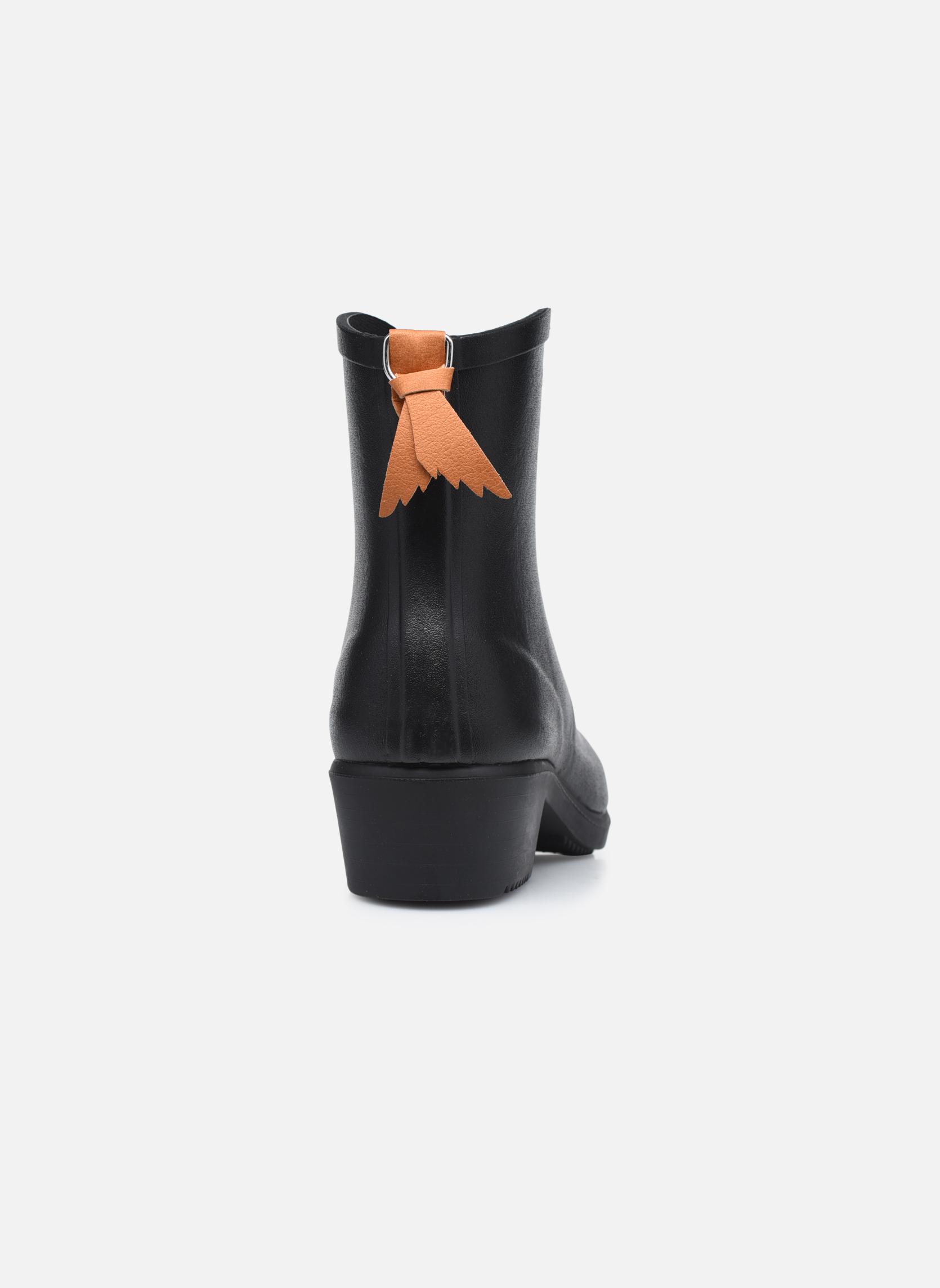Bottines et boots Aigle Miss Juliette Bottillon Noir vue droite