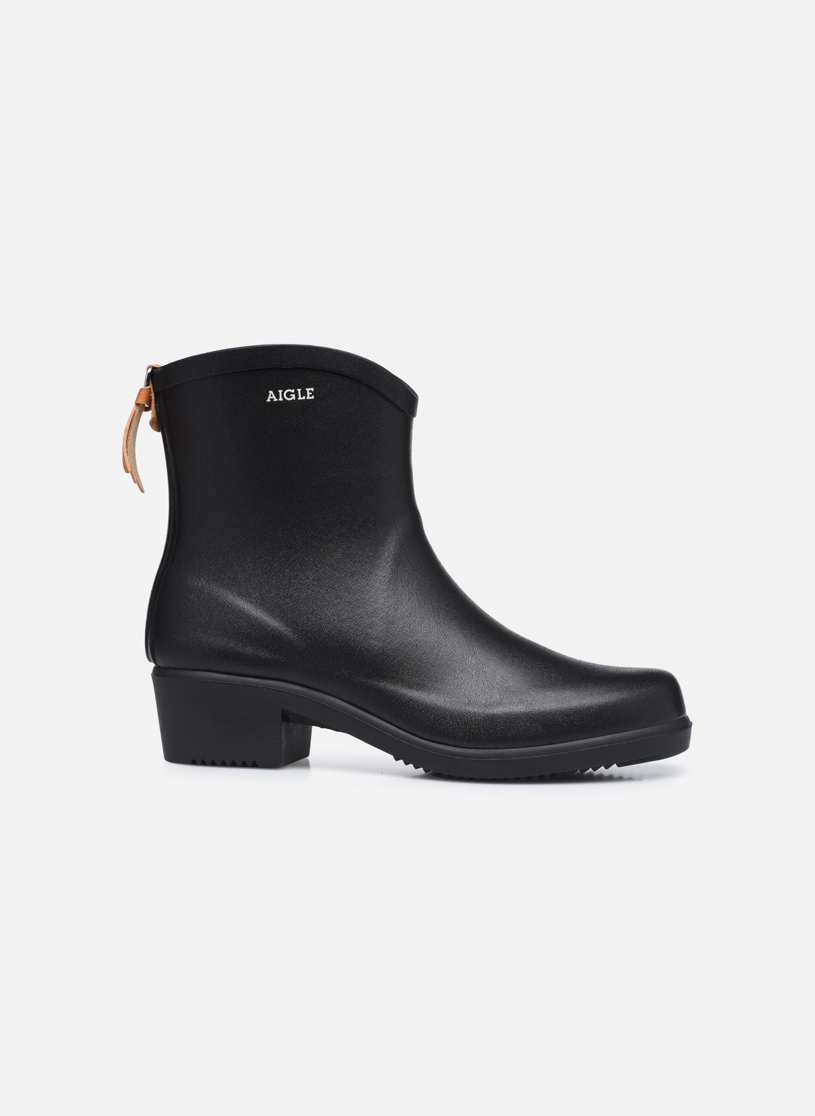 Stiefeletten & Boots Aigle Miss Juliette Bottillon schwarz ansicht von hinten