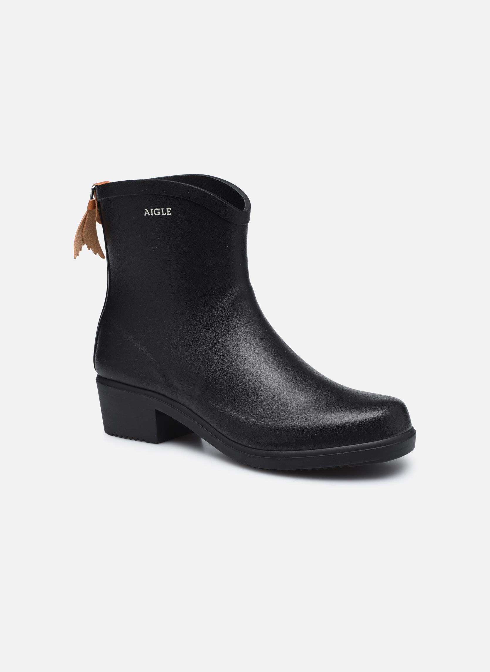 Stiefeletten & Boots Aigle Miss Juliette Bottillon schwarz detaillierte ansicht/modell