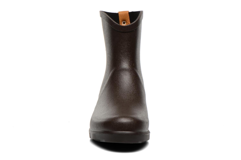 Stiefeletten & Boots Aigle Miss Juliette Bottillon braun schuhe getragen