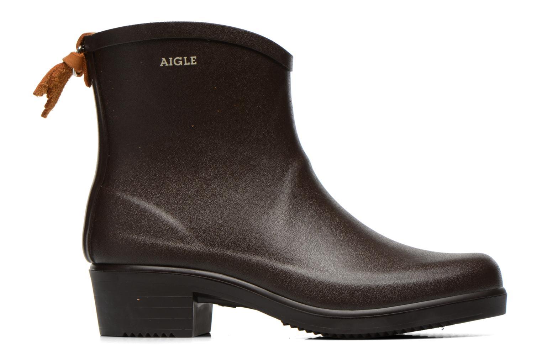 Stiefeletten & Boots Aigle Miss Juliette Bottillon braun ansicht von hinten