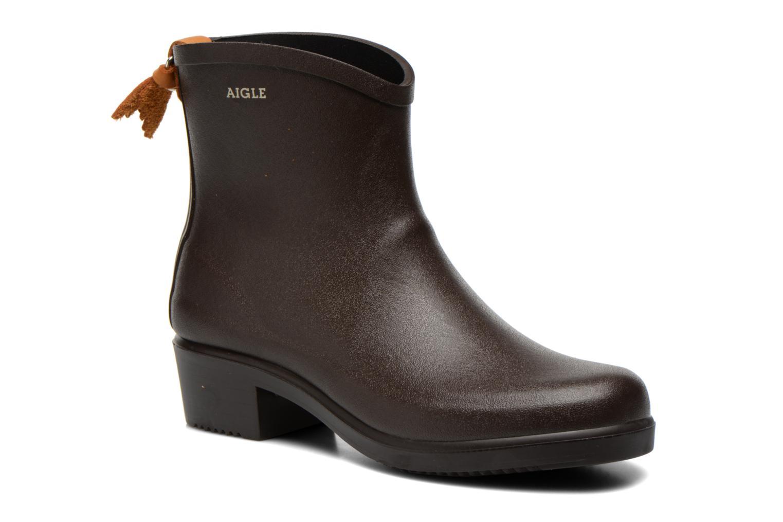 Stiefeletten & Boots Aigle Miss Juliette Bottillon braun detaillierte ansicht/modell