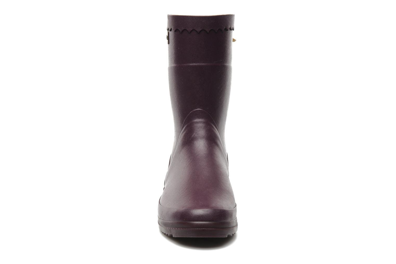 Stiefeletten & Boots Aigle Bison Lady lila schuhe getragen