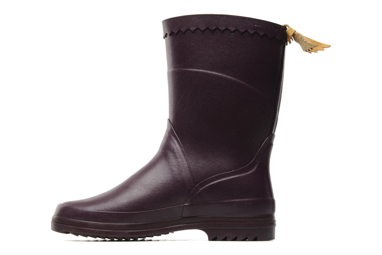 Stiefeletten & Boots Aigle Bison Lady lila ansicht von vorne