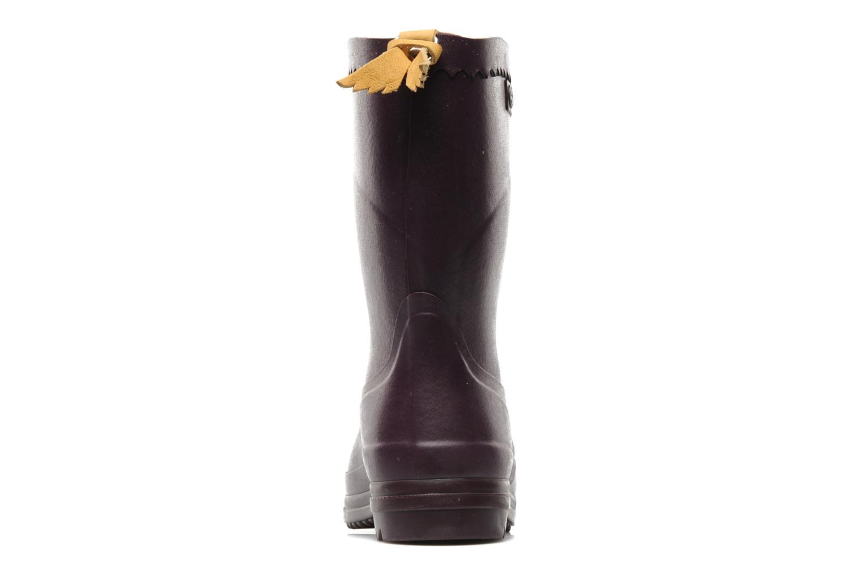 Stiefeletten & Boots Aigle Bison Lady lila ansicht von rechts