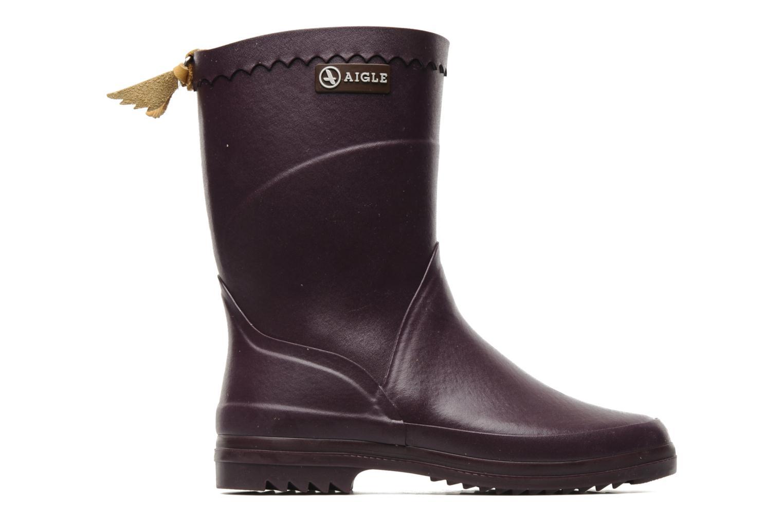 Bottines et boots Aigle Bison Lady Violet vue derrière