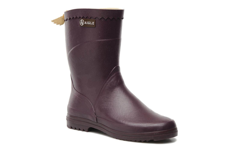 Bottines et boots Aigle Bison Lady Violet vue détail/paire