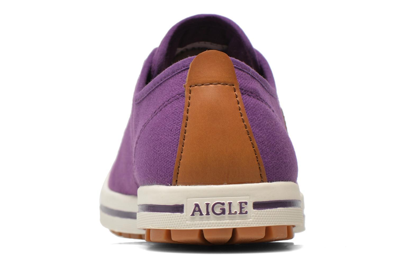 Chaussures de sport Aigle Kitangiri W Violet vue droite
