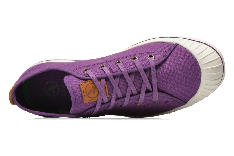 Chaussures de sport Aigle Kitangiri W Violet vue gauche