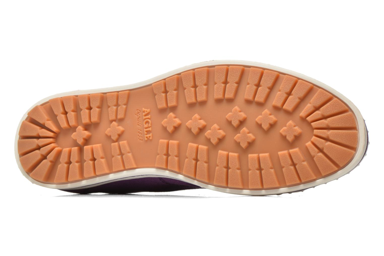 Chaussures de sport Aigle Kitangiri W Violet vue haut