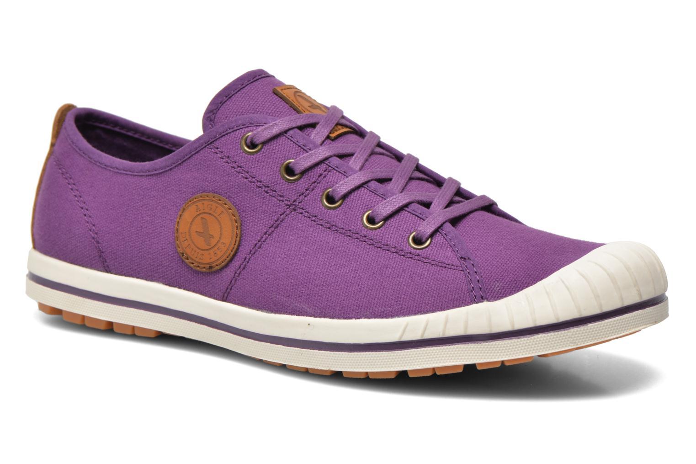 Chaussures de sport Aigle Kitangiri W Violet vue détail/paire