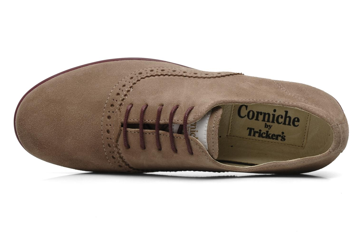 Veterschoenen Corniche by trickers Larry CM1000 Beige links