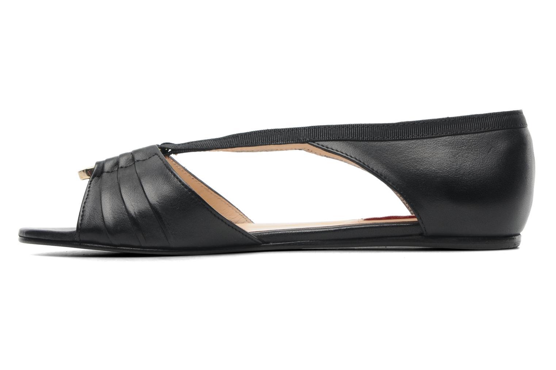 Sandales et nu-pieds MySuelly Romane Noir vue face