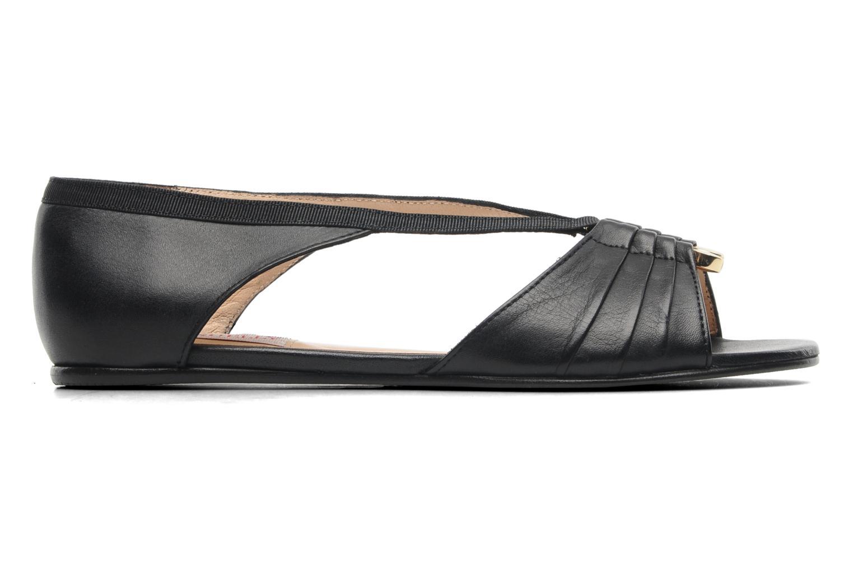 Sandales et nu-pieds MySuelly Romane Noir vue derrière