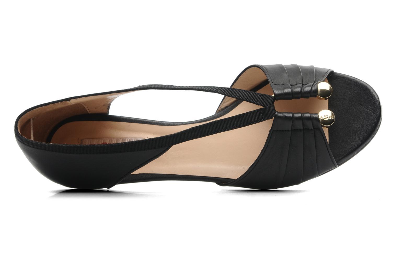 Sandales et nu-pieds MySuelly Romane Noir vue gauche