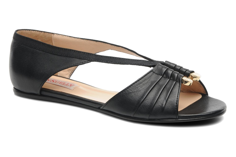 Sandales et nu-pieds MySuelly Romane Noir vue détail/paire