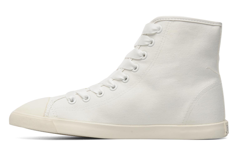 Baskets Be&D pistol sneakers Blanc vue face