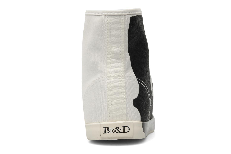 Baskets Be&D pistol sneakers Blanc vue droite