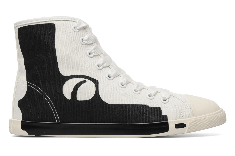 Baskets Be&D pistol sneakers Blanc vue derrière