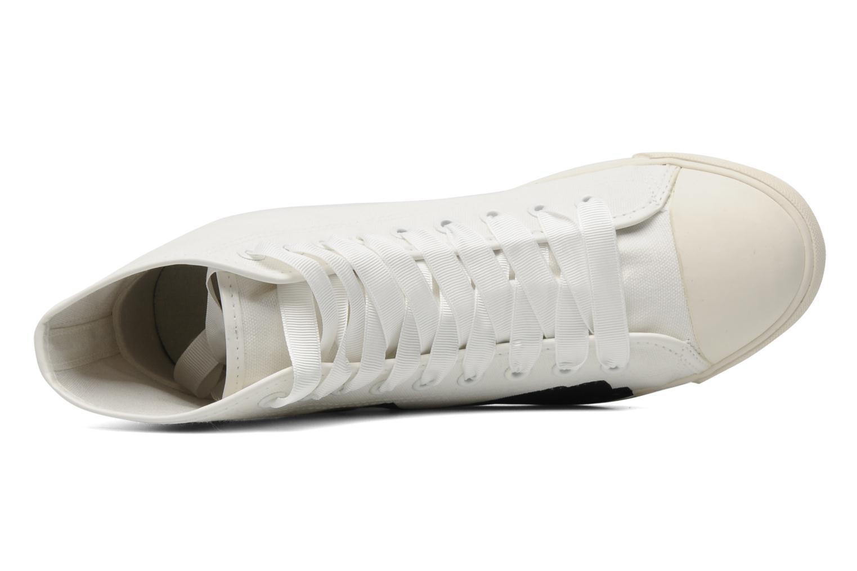 Baskets Be&D pistol sneakers Blanc vue gauche