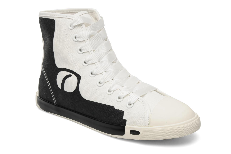 Baskets Be&D pistol sneakers Blanc vue détail/paire