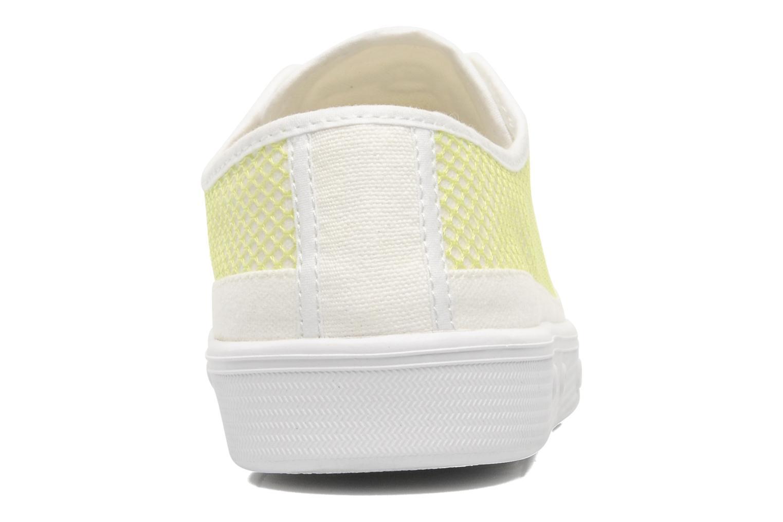 Sneakers Spring Court G2 net Wit rechts