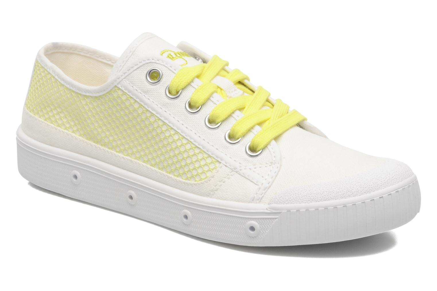 Sneakers Spring Court G2 net Wit detail