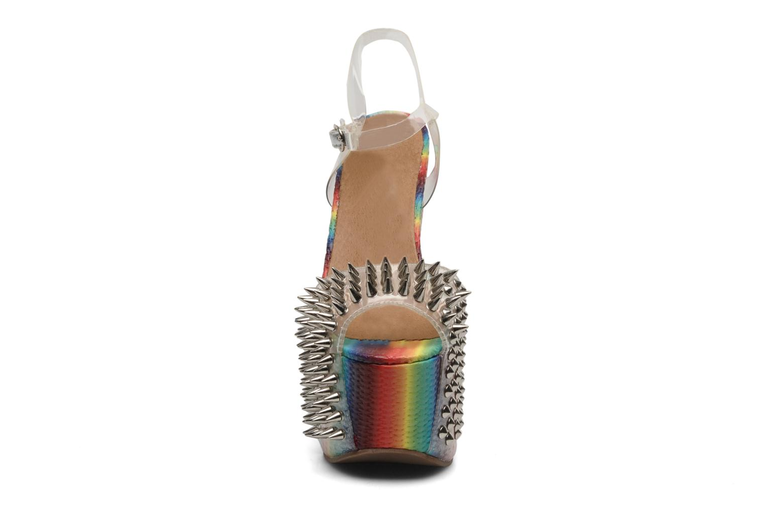 Sandals Jeffrey Campbell Vicious Multicolor model view